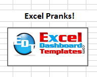 Excel Pranks