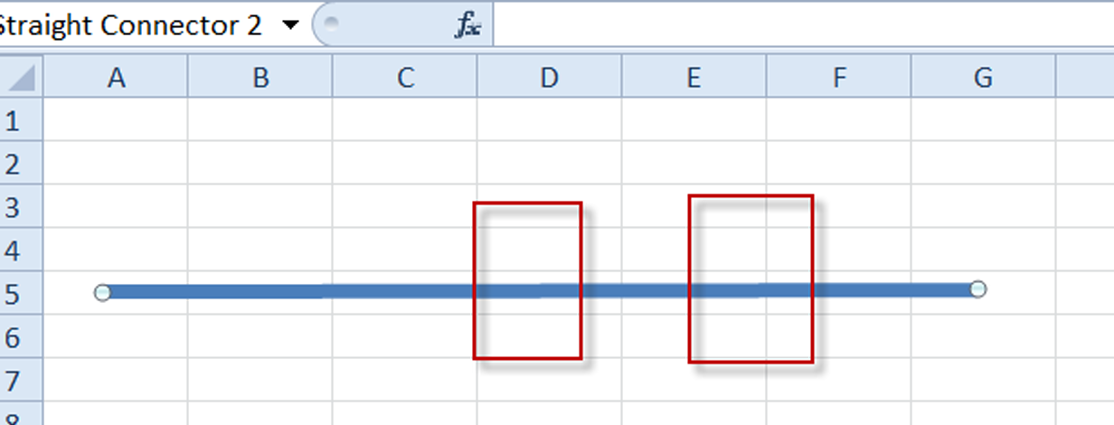 Drawing Lines Excel : Excel dashboard templates how to draw a straight line with