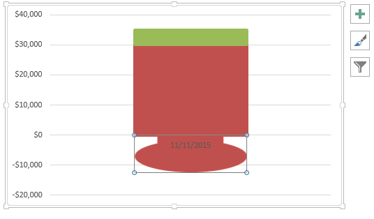 Copy Paste Custom Shape in Stacked Column Chart