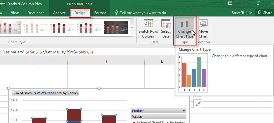 Excel Dashboard Templates How To Add A Grand Total Line On