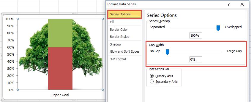 Tree Goal Chart Image No Gap